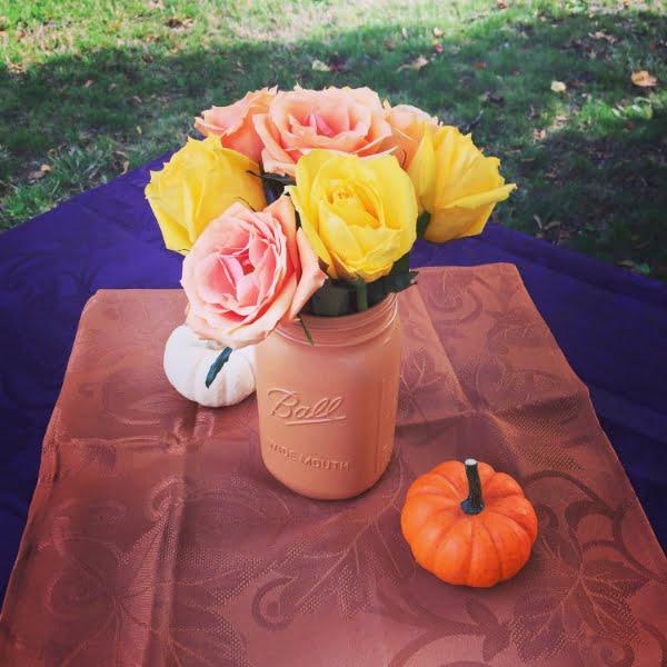 Easy to Paint Mason Jar Vases