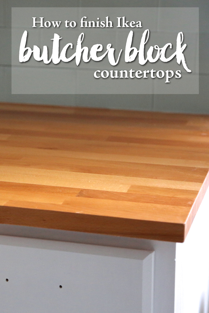 Fabulous How To Finish Ikea Butcher Block Countertops Weekend Craft Beutiful Home Inspiration Cosmmahrainfo