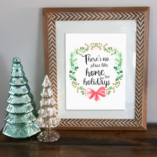 Handlettering Christmas printables