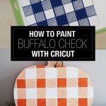 How to Paint Buffalo Check Stencil