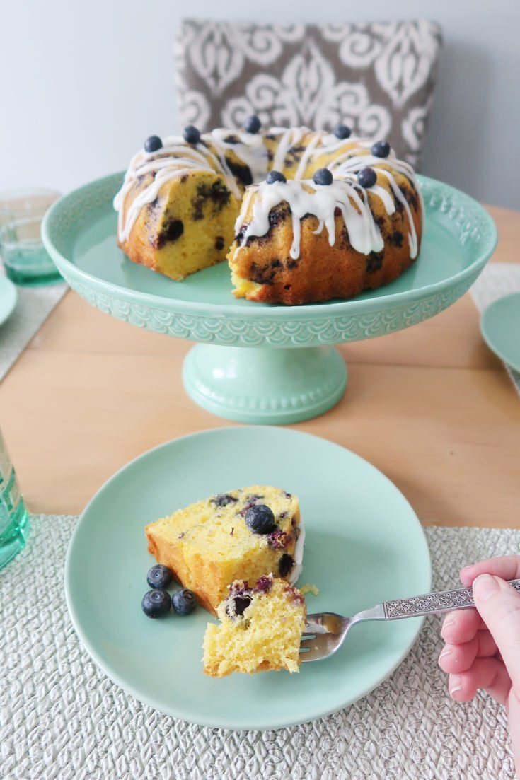 Lemon Blueberry Cake Recipe