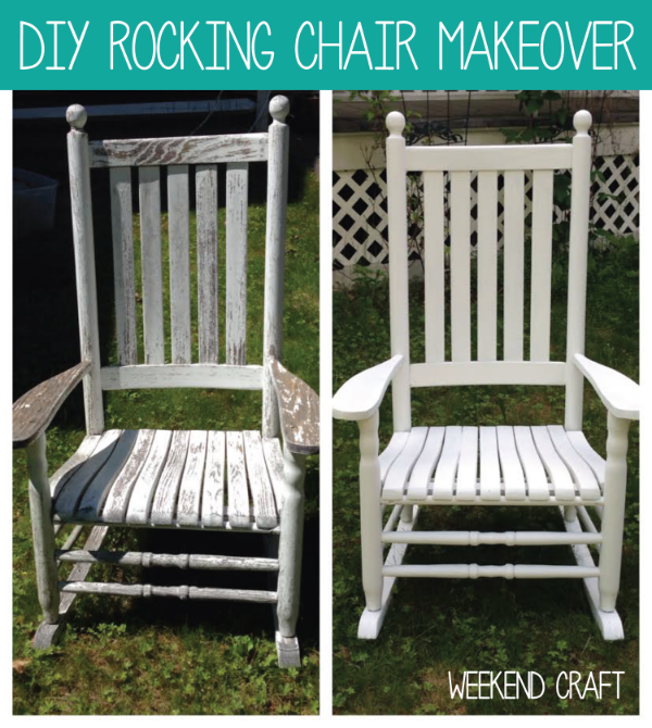 Miraculous Diy Rocking Chair Makeover Weekend Craft Pdpeps Interior Chair Design Pdpepsorg