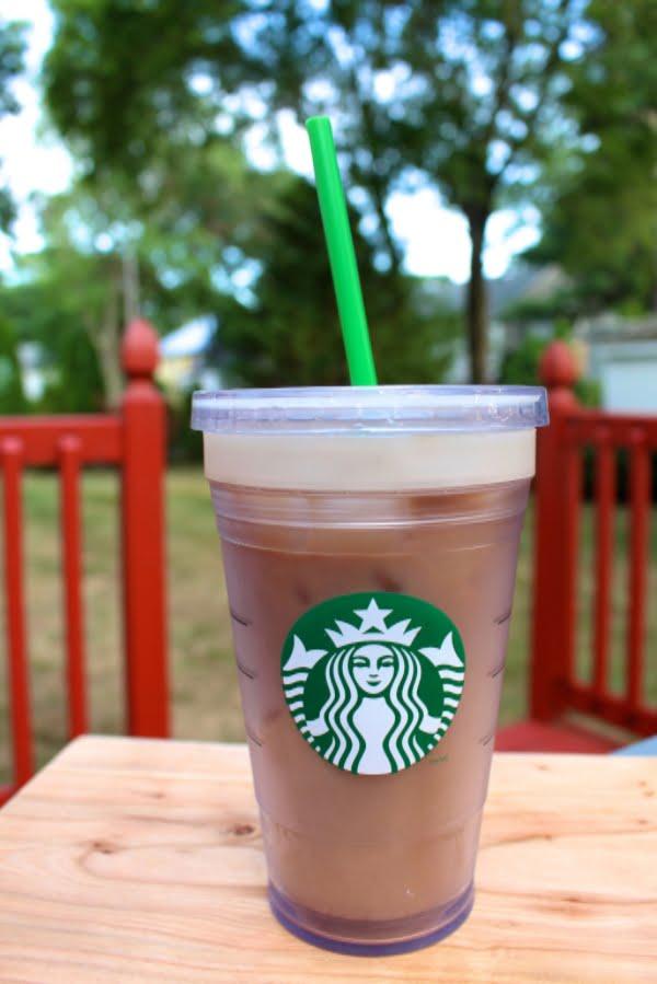 Homemade Starbucks Iced Latte