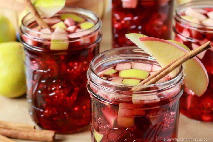 Apple Cinnamon Sangria Recipe