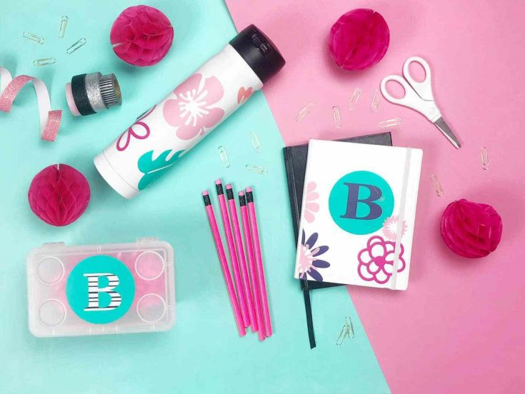Personalized Back To School Cricut Projects with Vinyl