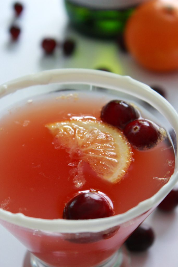 Cranberry Bliss Mimosa's