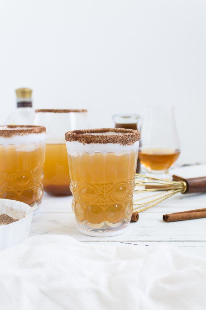 Delicious Punch Cocktail Recipe | Pumpkin Ginger Bourbon