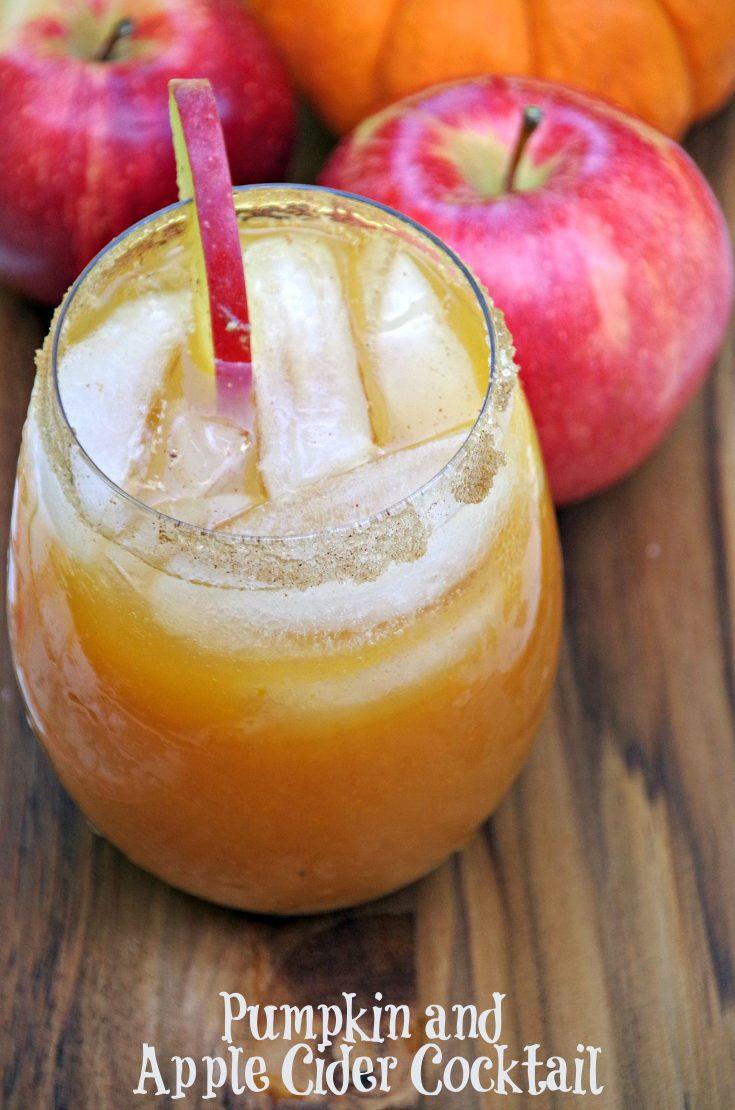 Pumpkin and Apple Cider Cocktail Recipe
