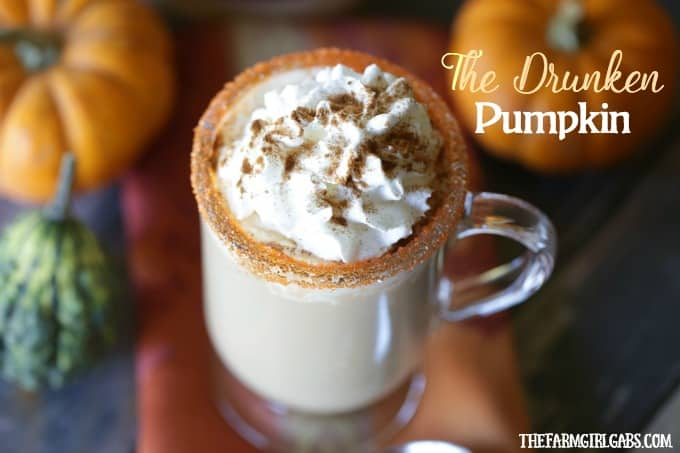 The Drunken Pumpkin Spice Latte