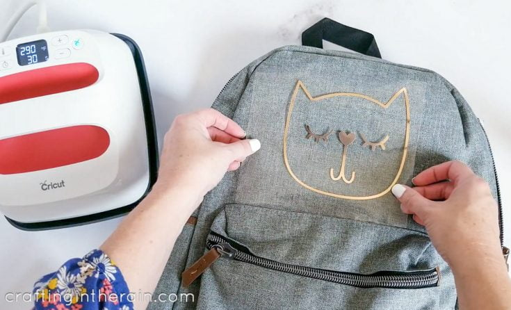 Cricut Backpack for Back to School