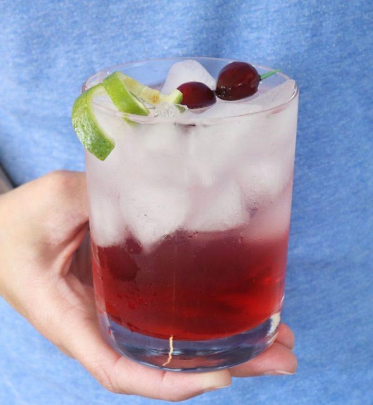 Sparkling Vodka Cranberry Cocktail - Creative Ramblings