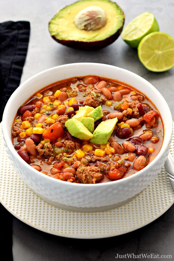 Easy Taco Soup - Gluten Free, Dairy Free