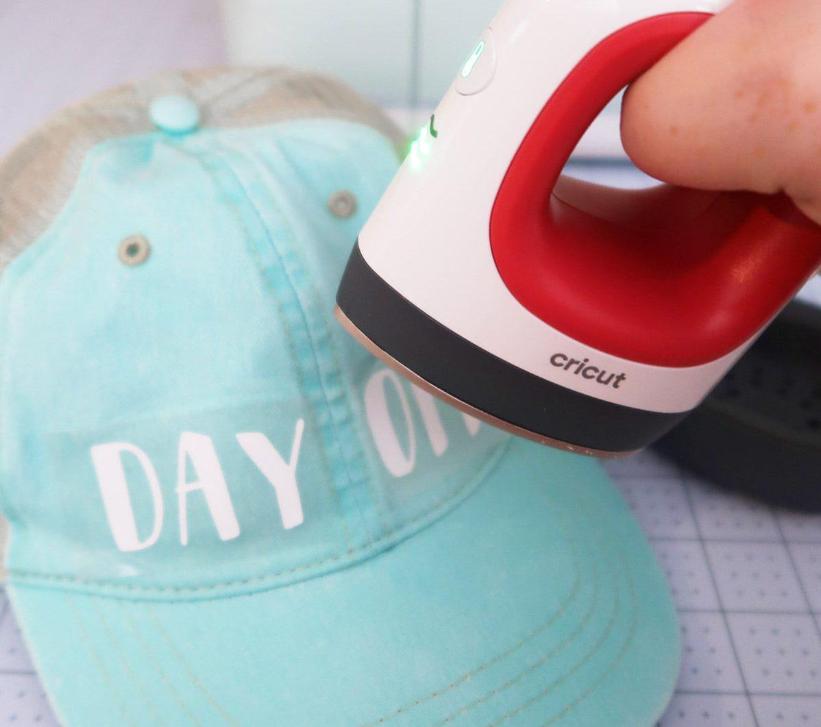 Vinyl on Hat