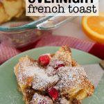 Cranberry Orange French Toast
