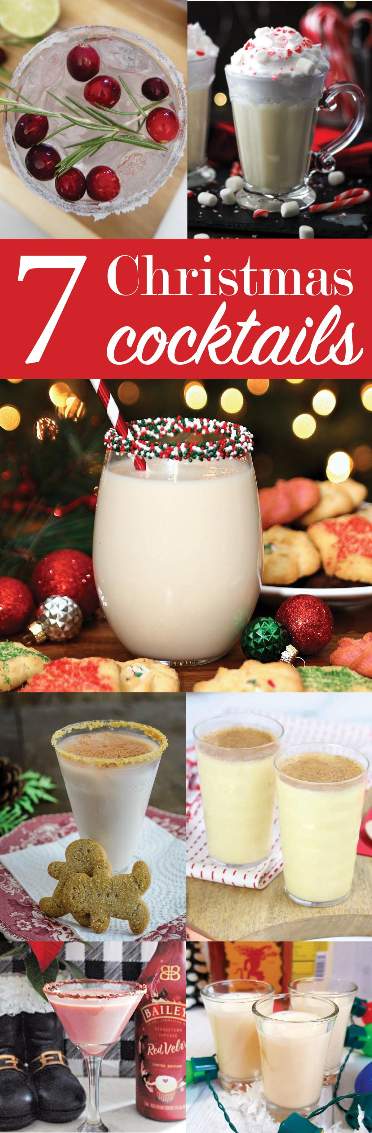 7 Christmas Cocktails