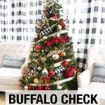 Buffalo Check Christmas Tree2