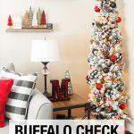 Buffalo Check Pencil Tree