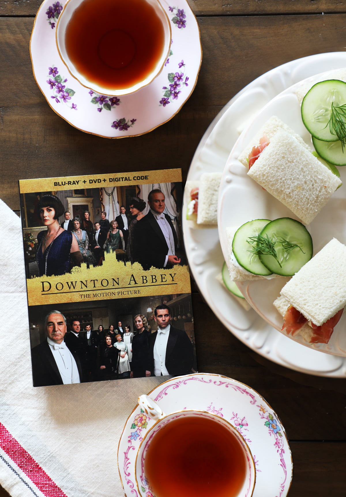 High Tea Party for Downton Abbey