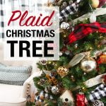 Plaid Christmas Tree