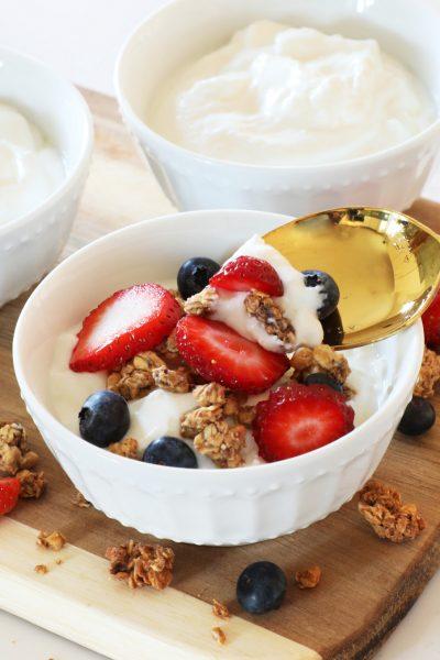 Instant Pot Vanilla Yogurt