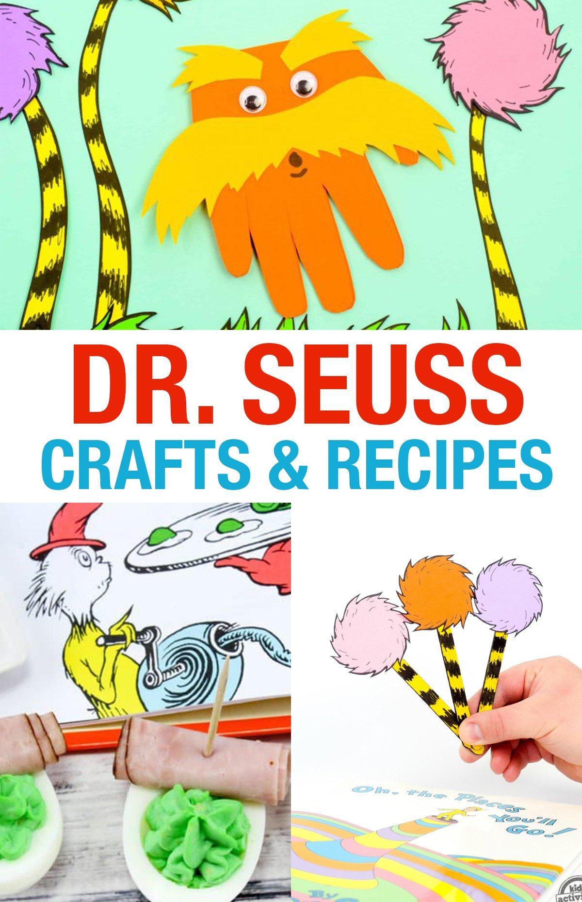 Dr. Seuss Crafts and Recipes