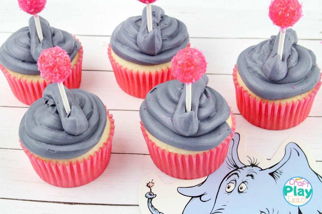 Horton Hears A Who Cupcakes