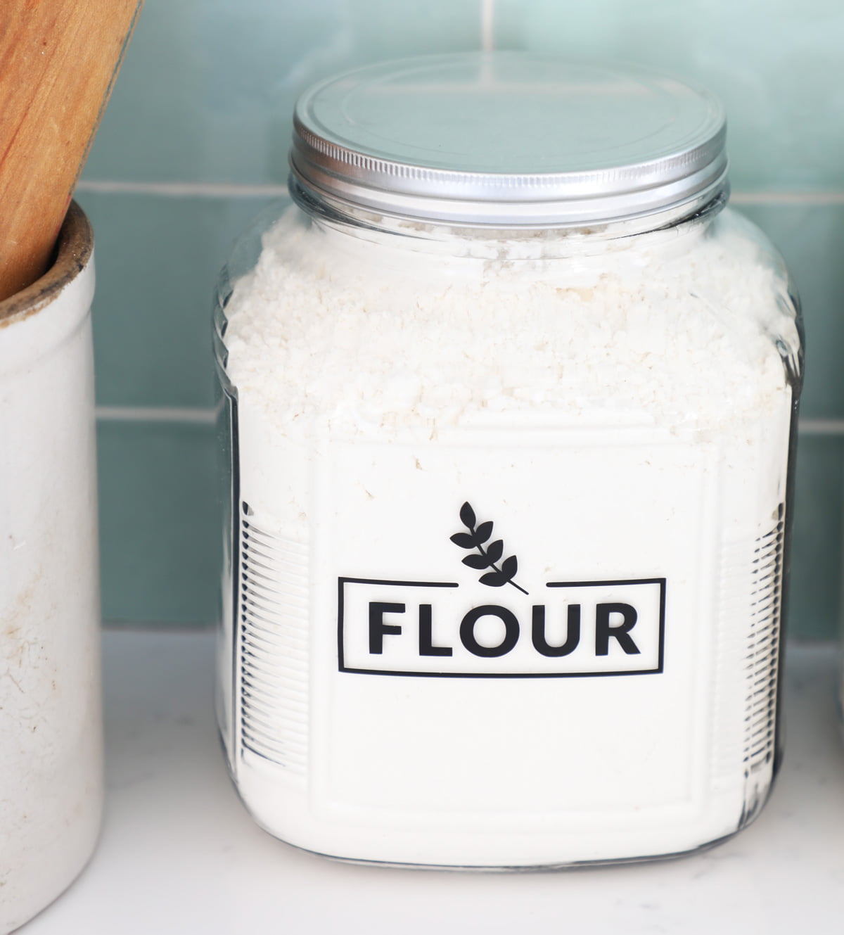 Flour Canister Pantry Label