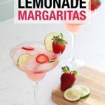 Strawberry Lemonade Margaritas