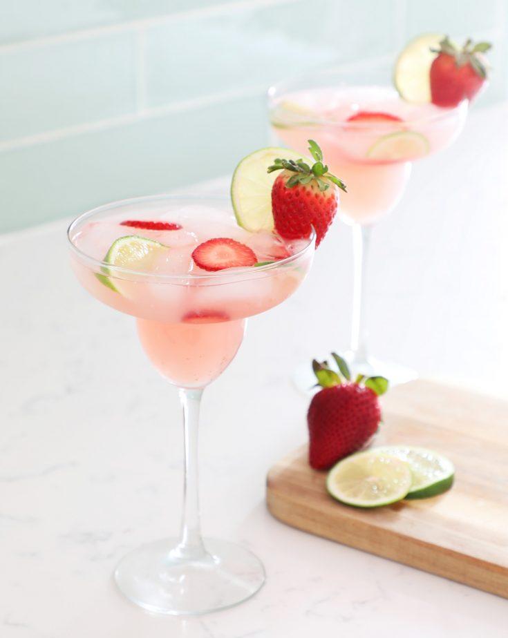 Strawberry Lemonade Margarita