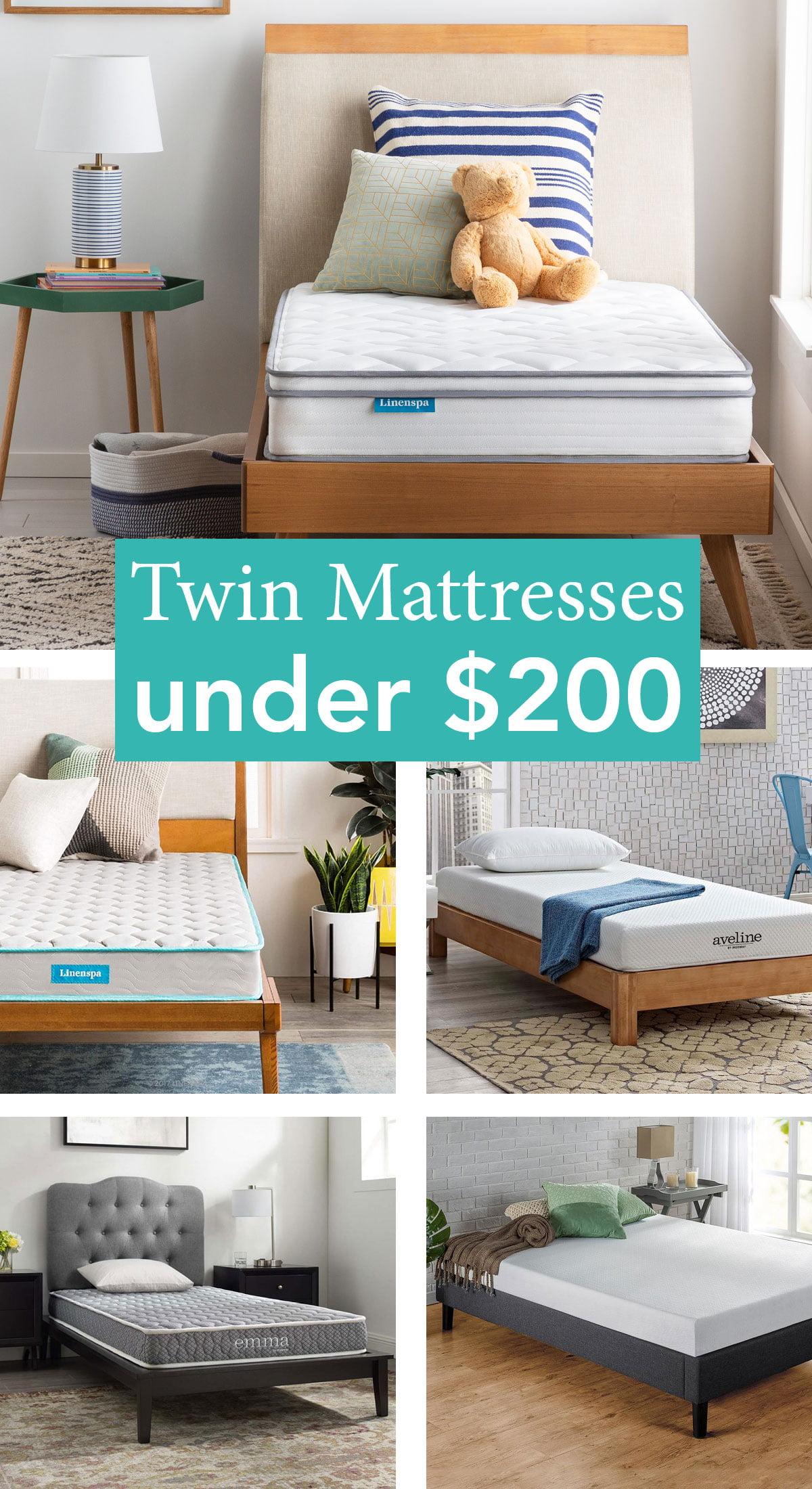 11 Twin Mattresses under $200