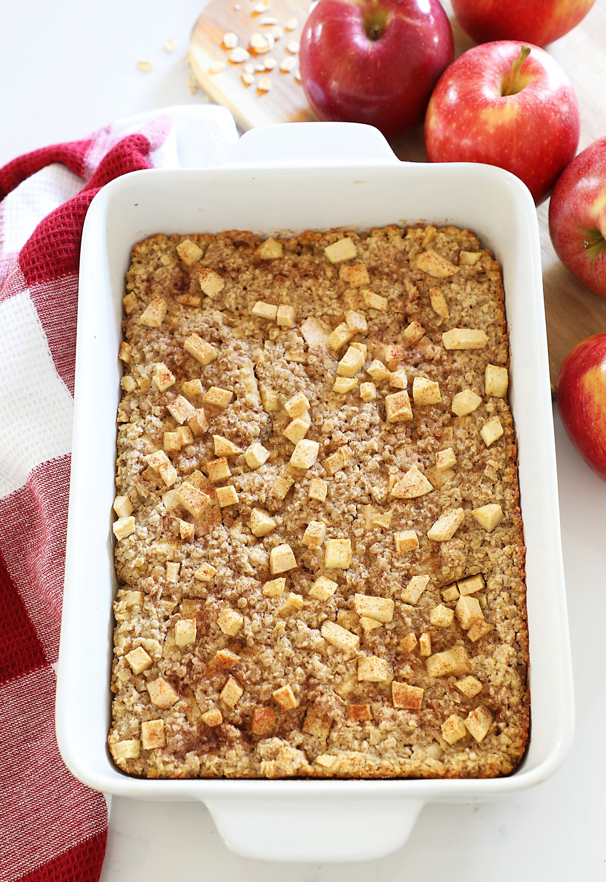Baked Amish Apple Oatmeal