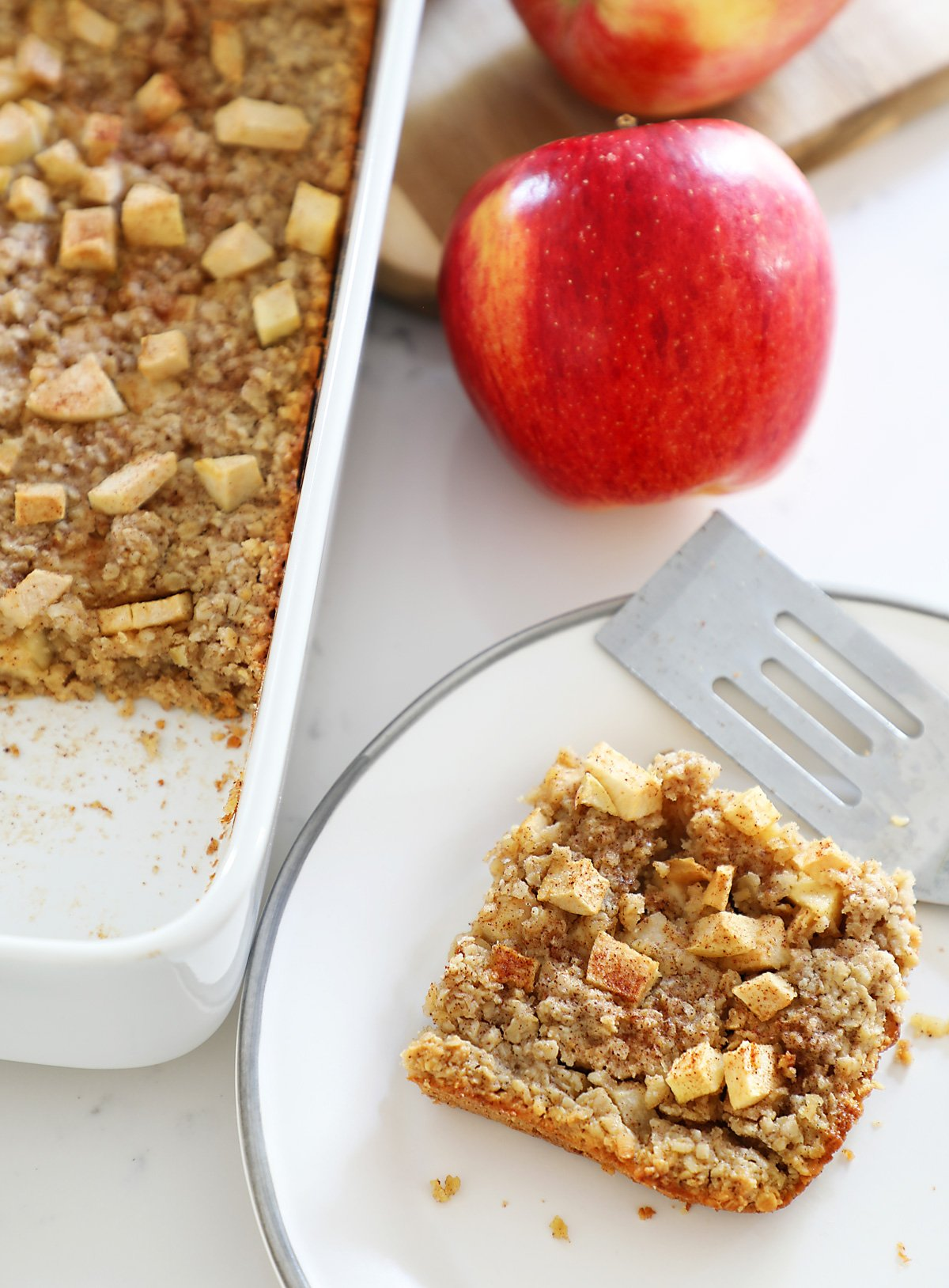 Baked Apple Oatmeal Recipe