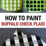 DIY Buffalo Check