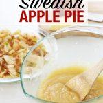 Swedish apple pie ingredients