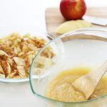 swedish apple pie batter