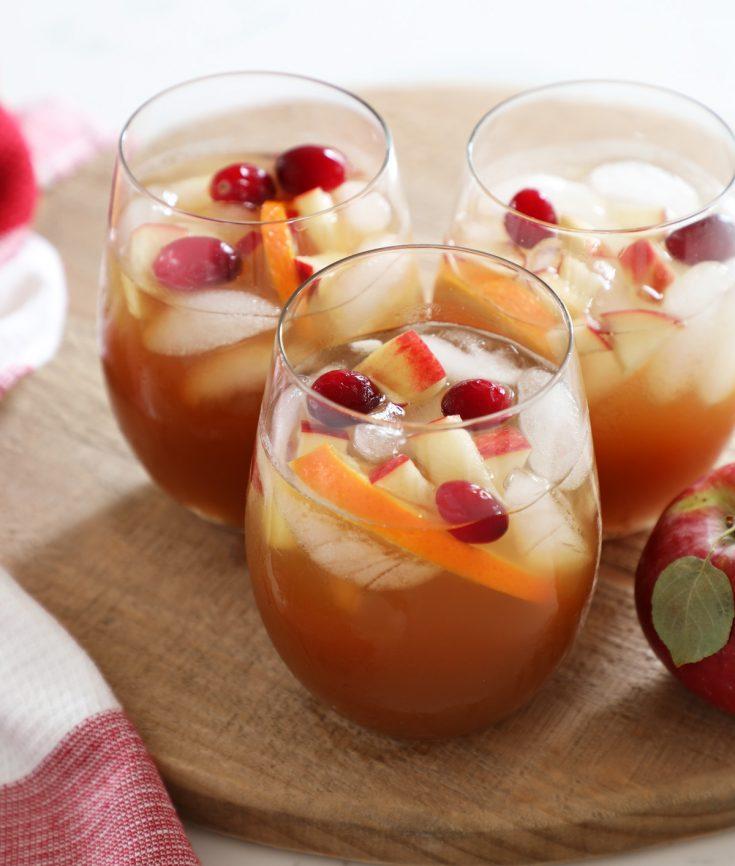Apple Cider Sangria Recipe