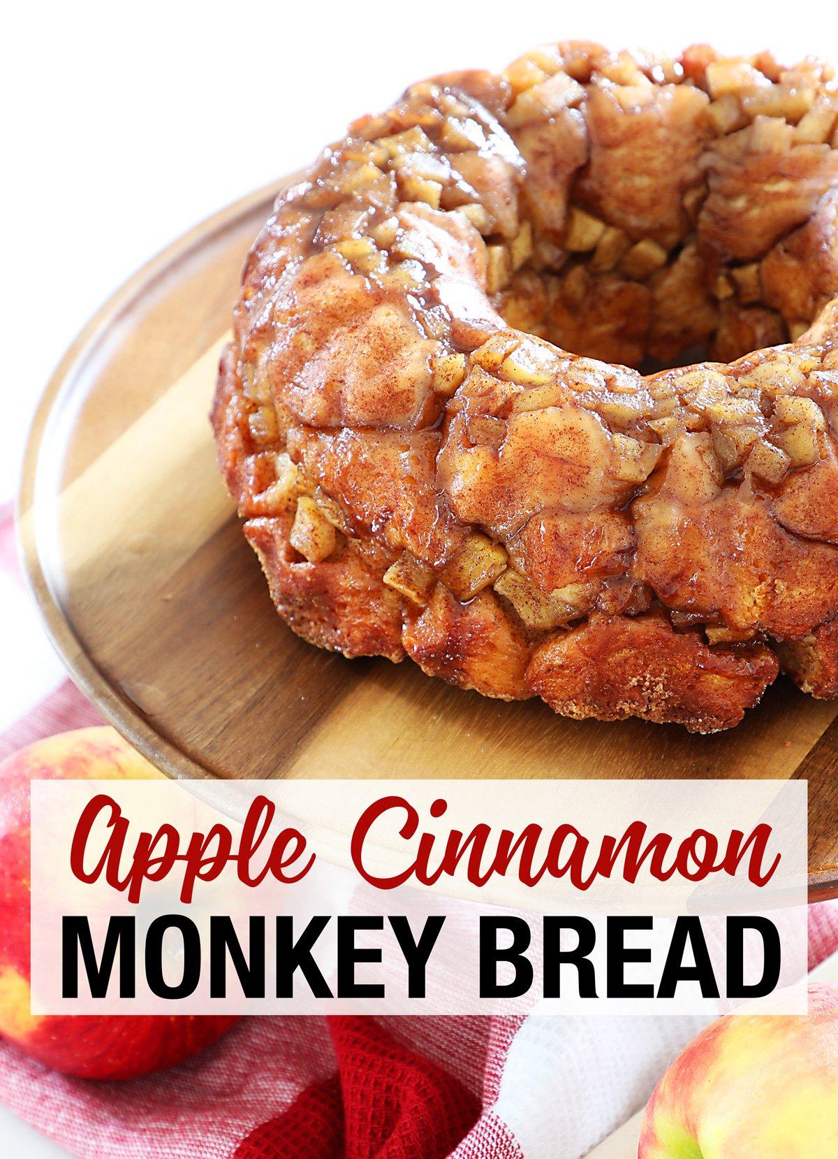 Apple Cinnamon Monkey Bread Recipe