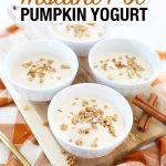 Instant Pot Pumpkin Yogurt Recipe