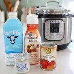 instant pot pumpkin ingredients