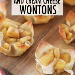 apple pie cream cheese wonton recipe