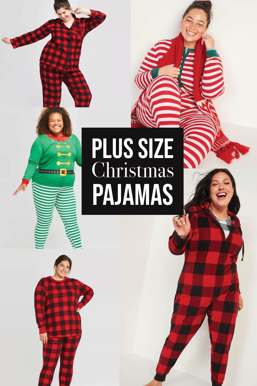 Plus Size Christmas PJs