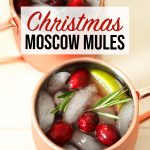 Christmas Moscow Mule Recipe