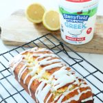 Lemon Pound Cake with yogurt