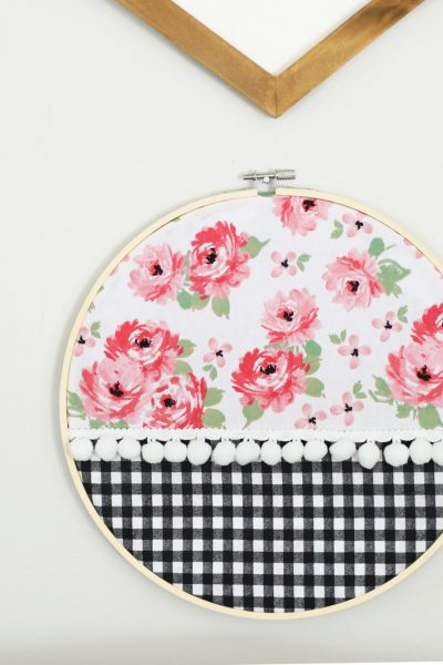 No Sew Embroidery Hoop