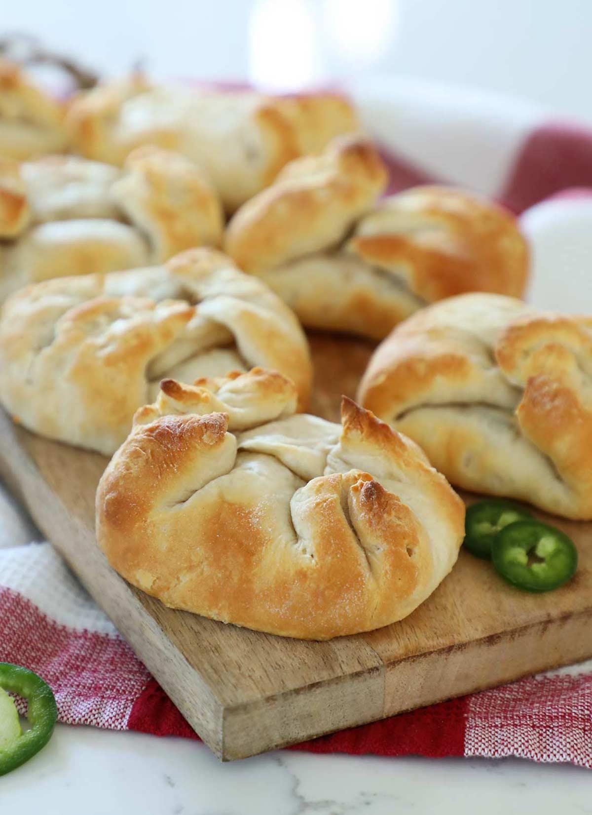 Jalapeño Popper Biscuit Pockets