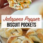 Jalepeno Popper Biscuit Pockets
