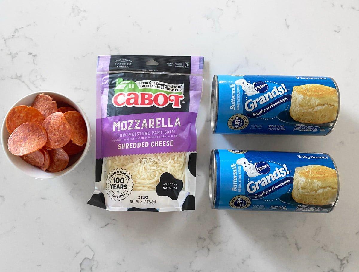 Pizza Monkey Bread ingredients
