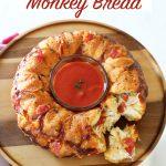 Pepperoni Pizza monkey bread