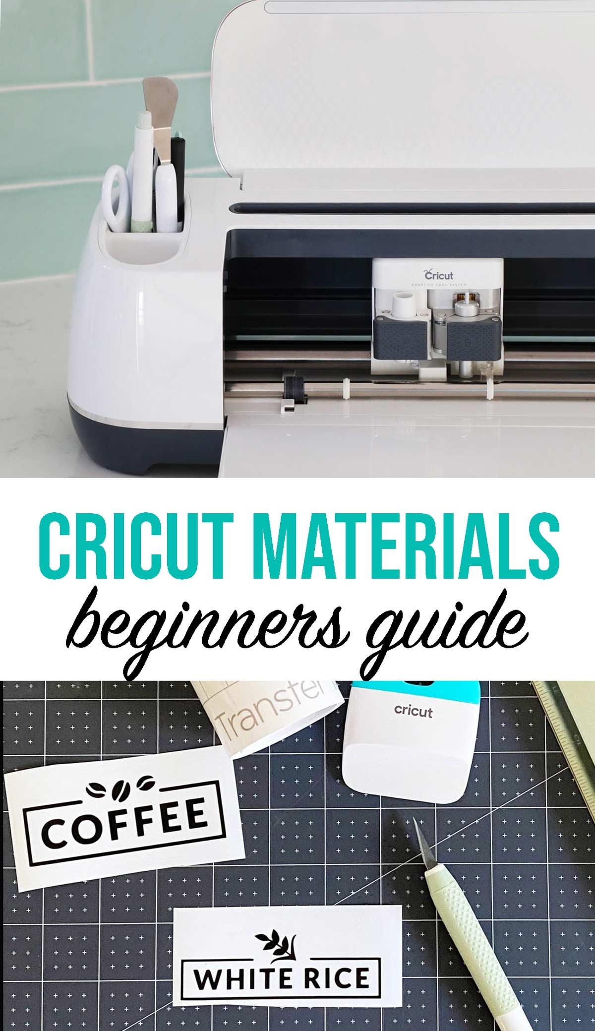 Cricut Materials Guide