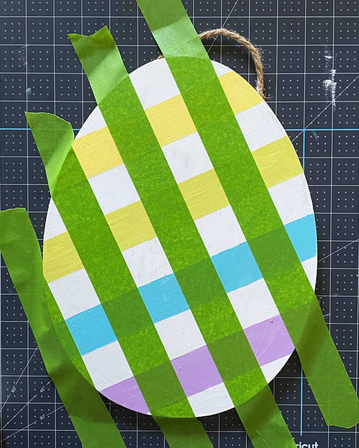 How to Paint Plaid